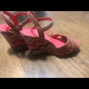 American Eagle Outfitters Shoes - American Eagle Wedge Sandals Size 7